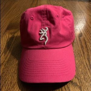 *Never worn* Browning hat in pink for sale!